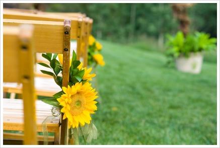 Sunflower Wedding Decorations