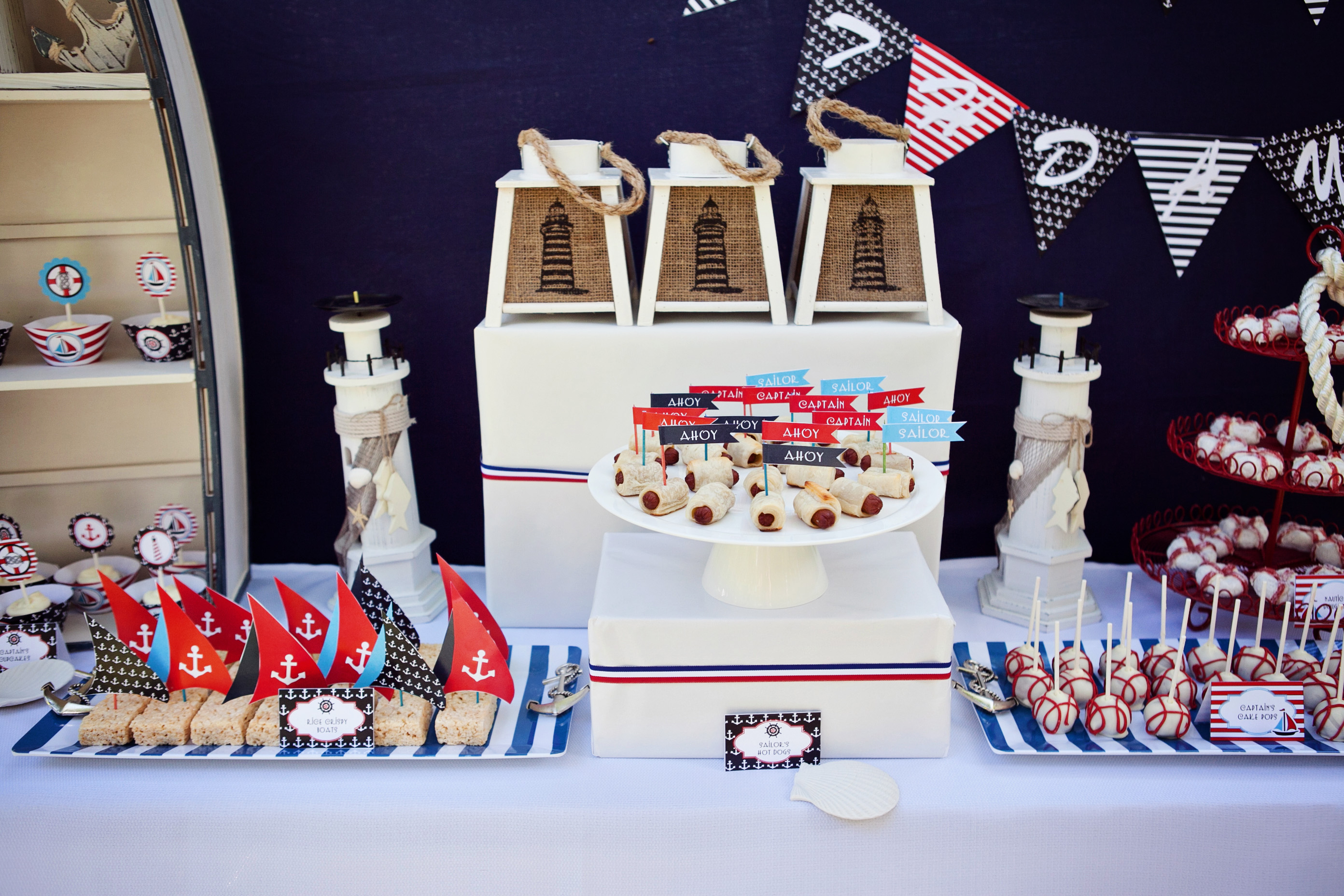 Lighthouse Themed Party Decorations