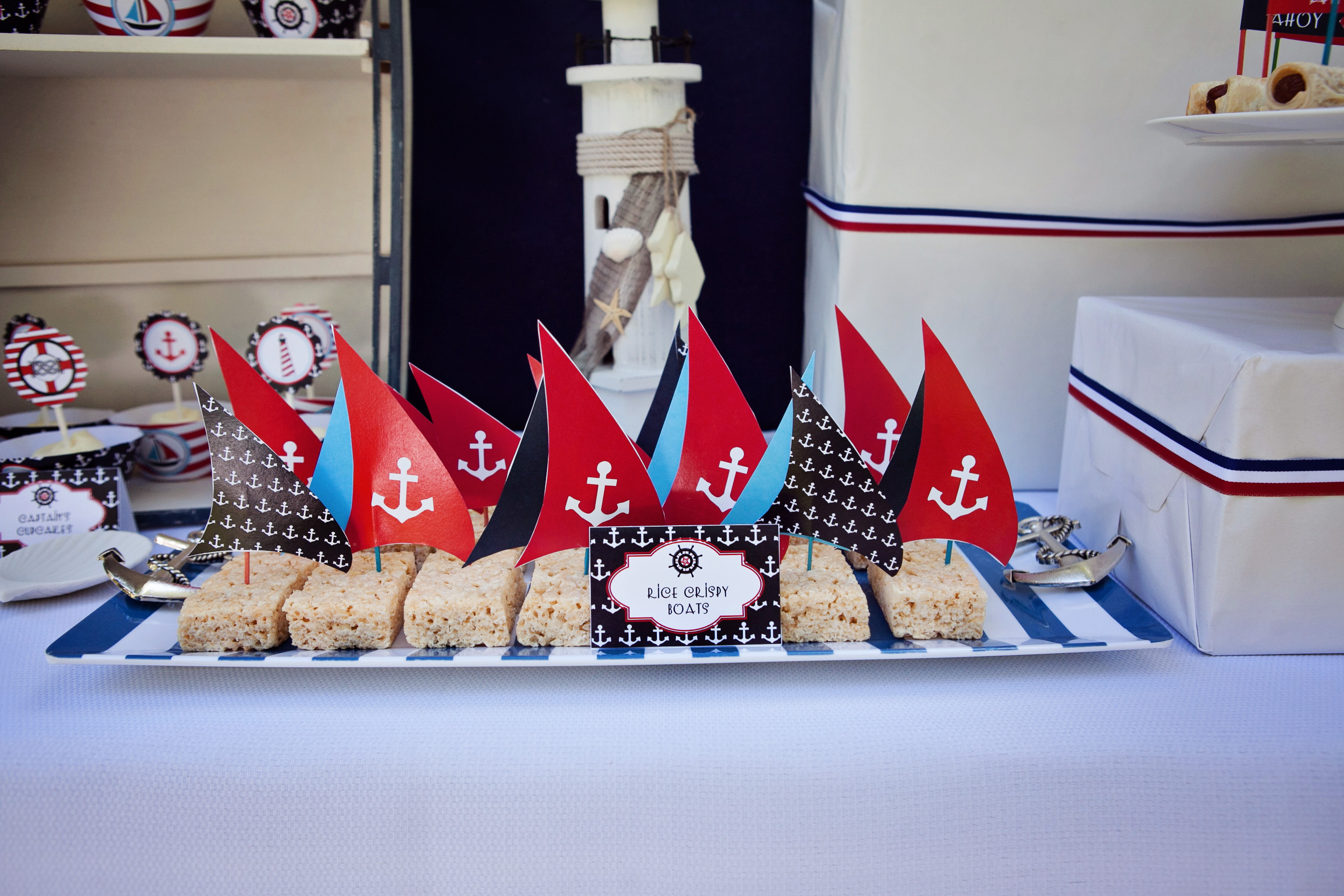 Fiesta infantil marinera qu cuenta la pajarita - Fiesta marinera decoracion ...