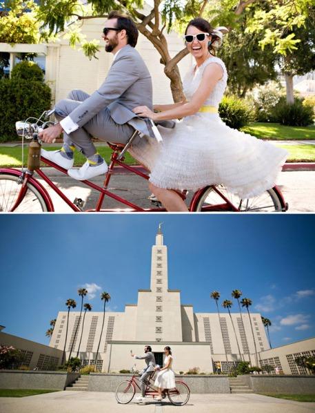 bicicletas en tu boda