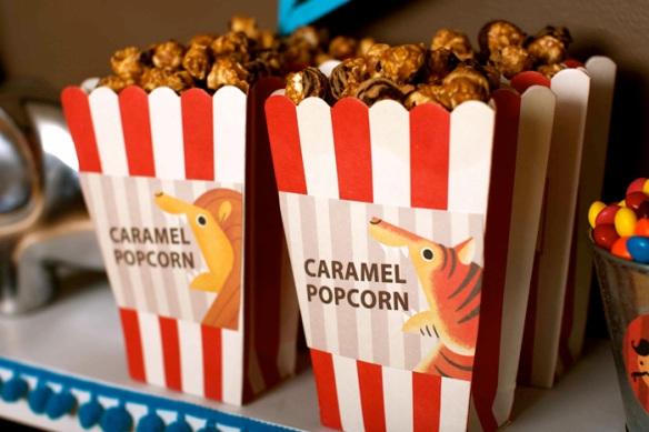 packaging popcorn