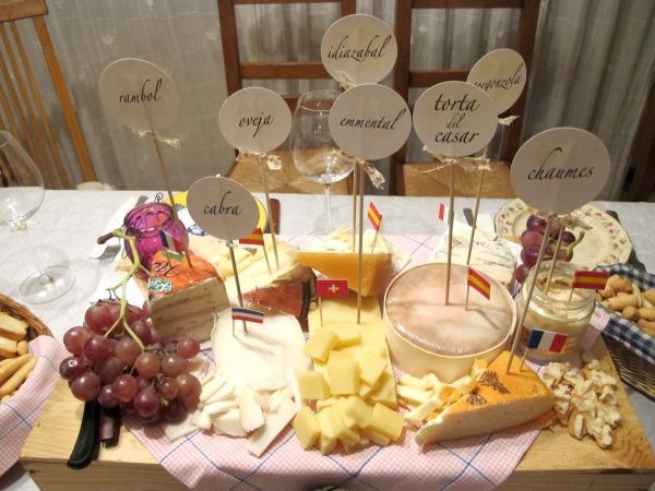 A+A eventos, fiesta de quesos y vinos