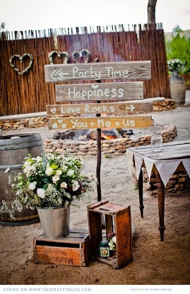 Ideas Para Matrimonio Rustico : Ideas para una boda rÚstica qué cuenta la pajarita