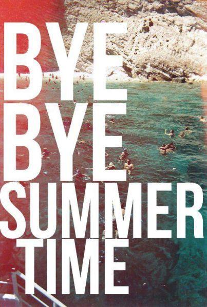 Adios al verano