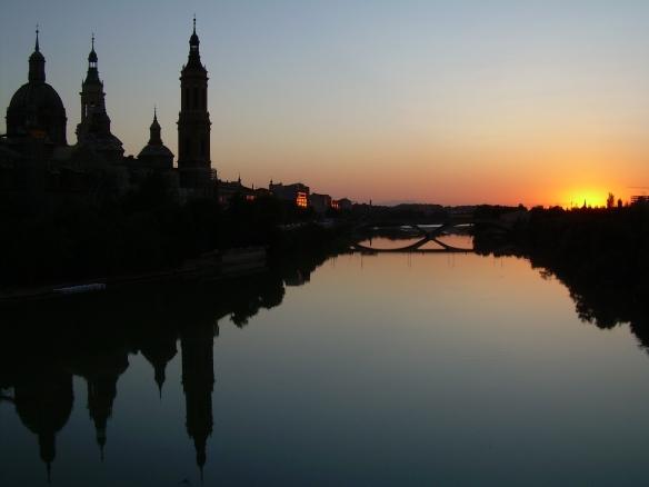 Zaragoza-Pilar-río-Ebro